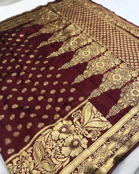Amazing New Bollywood Designer  Kanchipuram Silk Saree KC6061
