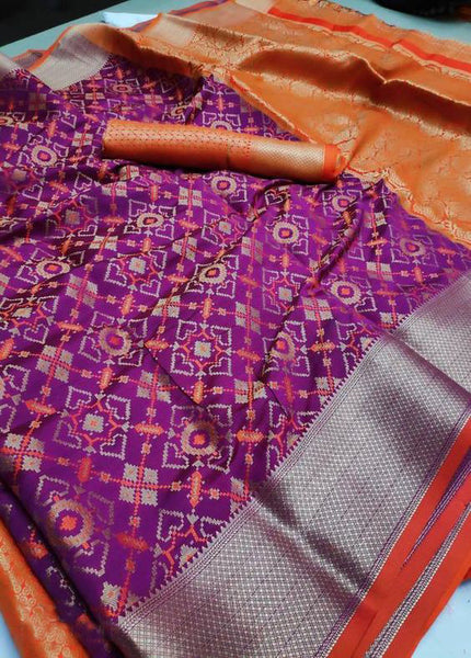 Awesome New Bollywood Designer  Kanchipuram Silk Saree KC6079