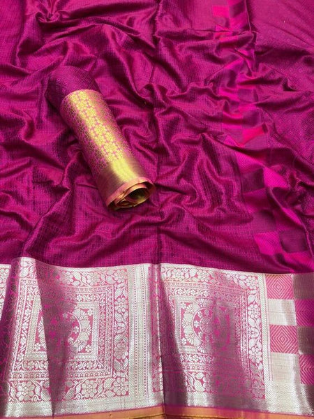 Awesome New Bollywood Designer  Kanchipuram Silk Saree KC6081