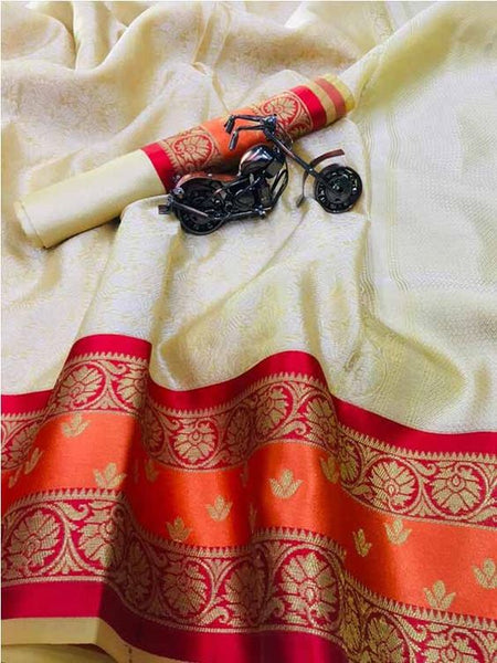 Awesome New Bollywood Designer  Kanchipuram Silk Saree KC6094