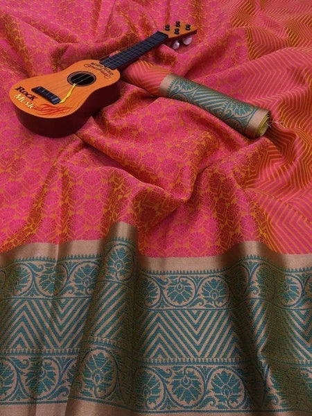 New Latest Designer  Kanchipuram Silk Saree KC6102