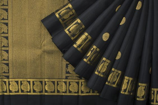 New Latest Collection of Designer  Kanchipuram Silk Saree KC6171