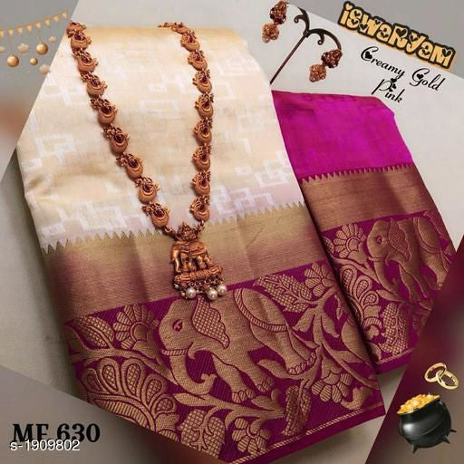 Awesome Bollywood Designer Kanjivarm Silk Saree KJ5002
