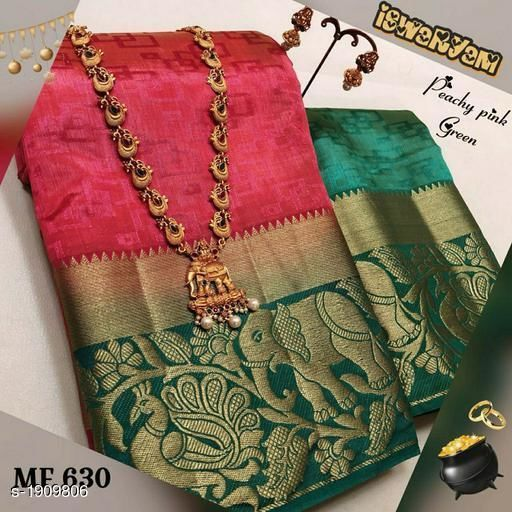 Awesome Bollywood Designer Kanjivarm Silk Saree KJ5005