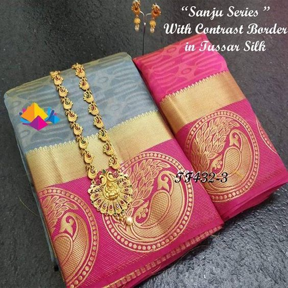 Awesome Bollywood Designer Kanjivarm Silk Saree KJ5021