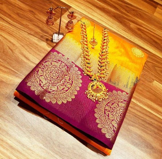 Awesome Bollywood Designer Kanjivarm Silk Saree KJ5026