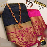 Awesome Bollywood Designer Kanjivarm Silk Saree KJ5035