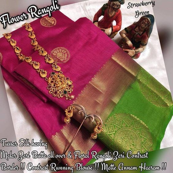Awesome Bollywood Designer Kanjivarm Silk Saree KJ5038