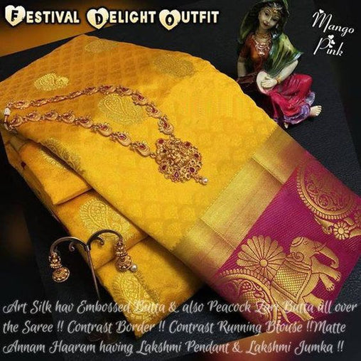 Awesome Bollywood Designer Kanjivarm Silk Saree KJ5047