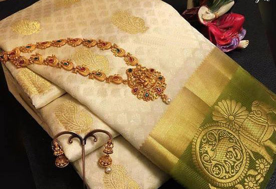 Awesome Bollywood Designer Kanjivarm Silk Saree KJ5065