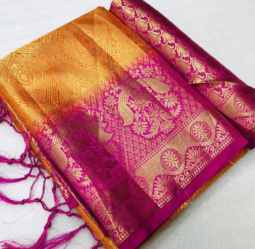 Awesome Bollywood Designer Kanjivarm Silk Saree KJ5071