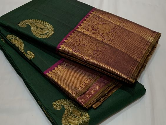Awesome Bollywood Designer Kanjivarm Silk Saree KJ5090