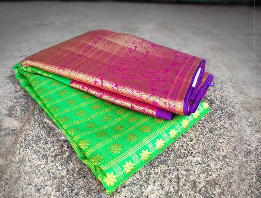 Awesome Bollywood Designer Kanjivarm Silk Saree KJ5093