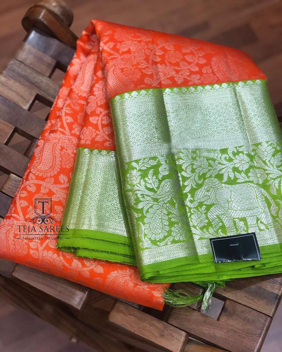 Awesome Bollywood Designer Kanjivarm Silk Saree KJ5139
