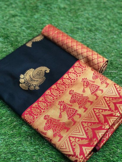Awesome Bollywood Designer Kanjivarm Silk Saree KJ5153