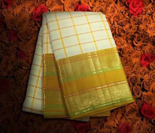 Awesome Bollywood Designer Kanjivarm Silk Saree KJ5173
