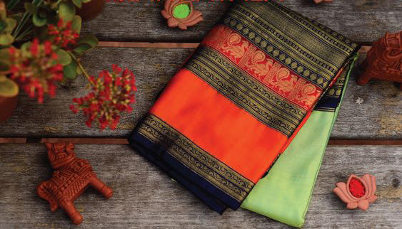 Awesome Bollywood Designer Kanjivarm Silk Saree KJ5183
