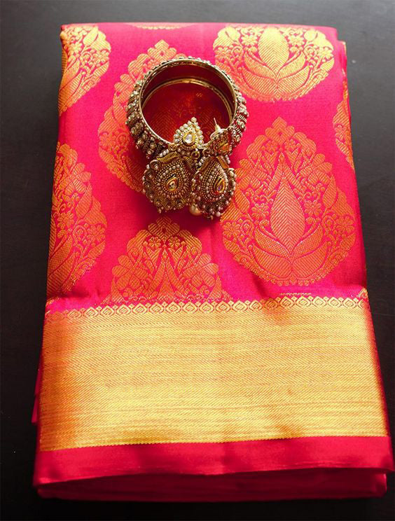 Awesome Bollywood Designer Kanjivarm Silk Saree KJ5190