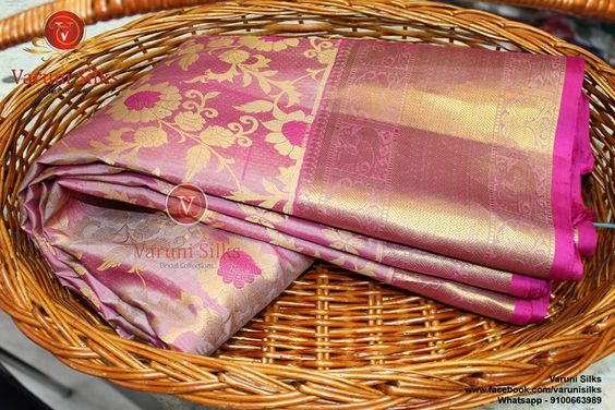 Awesome Bollywood Designer Kanjivarm Silk Saree KJ5209