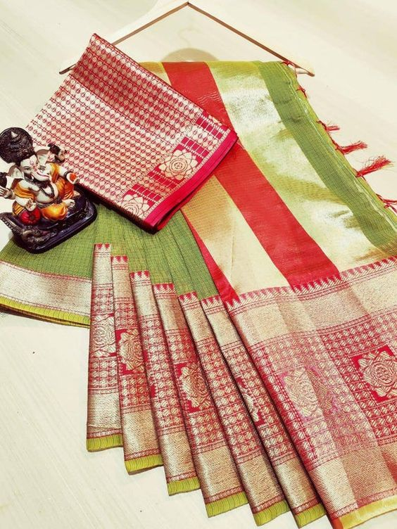 Awesome Bollywood Designer Kanjivarm Silk Saree KJ5246
