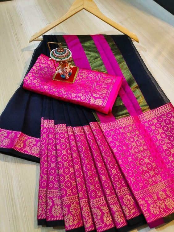 Awesome Bollywood Designer Kanjivarm Silk Saree KJ5248