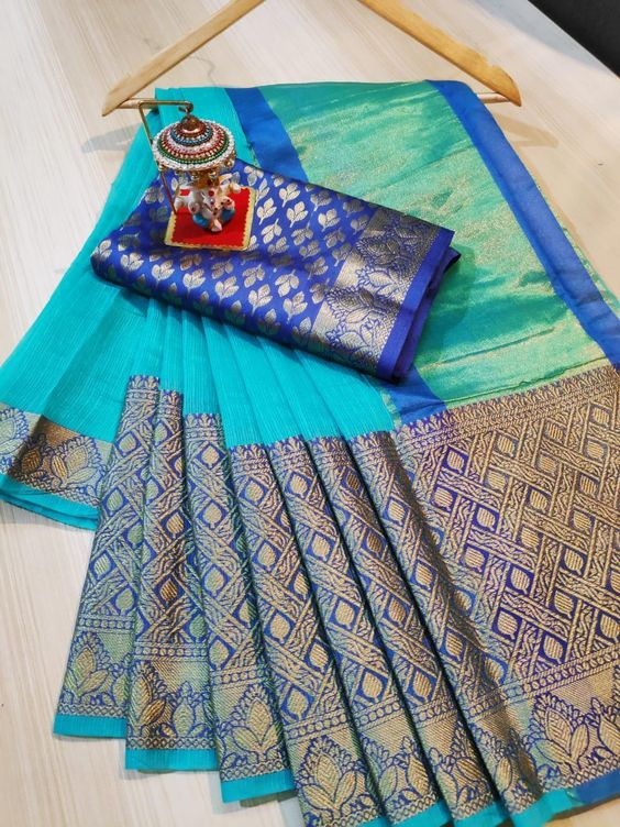 Awesome Bollywood Designer Kanjivarm Silk Saree KJ5258