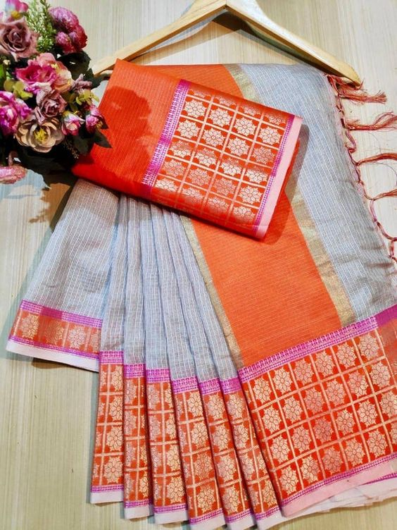Awesome Bollywood Designer Kanjivarm Silk Saree KJ5260