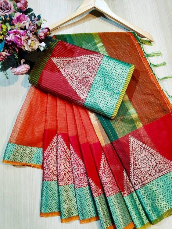 Awesome Bollywood Designer Kanjivarm Silk Saree KJ5266