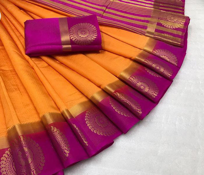 Awesome Bollywood Designer Kanjivarm Silk Saree KJ5279