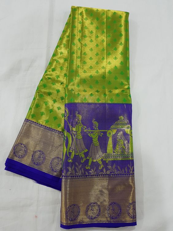 Awesome Bollywood Designer Kanjivarm Silk Saree KJ5284