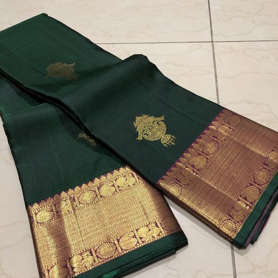 Awesome Bollywood Designer Kanjivarm Silk Saree KJ5285