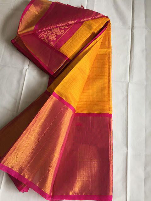 Awesome Bollywood Designer Kanjivarm Silk Saree KJ5291