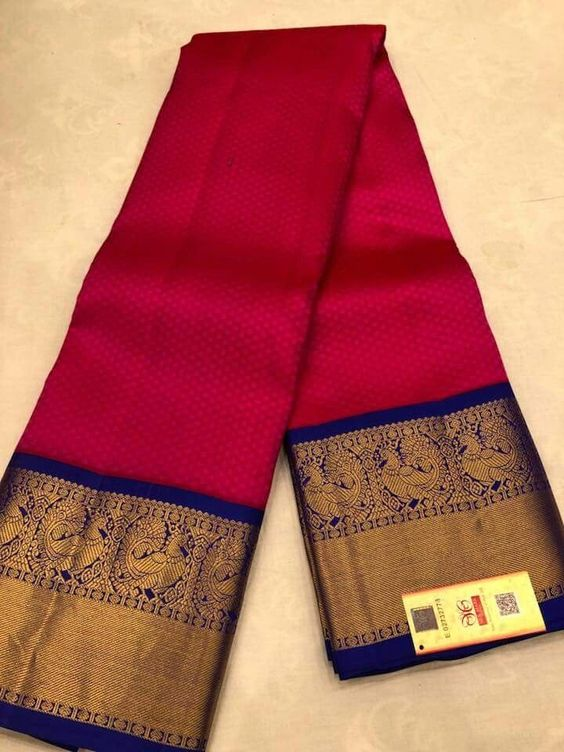 Awesome Bollywood Designer Kanjivarm Silk Saree KJ5320