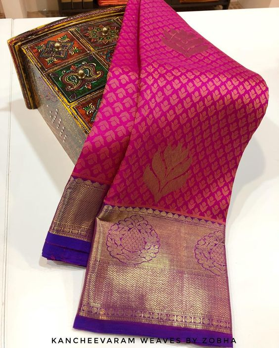 Awesome Bollywood Designer Kanjivarm Silk Saree KJ5328