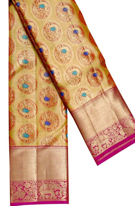 Awesome Bollywood Designer Kanjivarm Silk Saree KJ5340