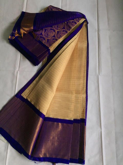 Awesome Bollywood Designer Kanjivarm Silk Saree KJ5343