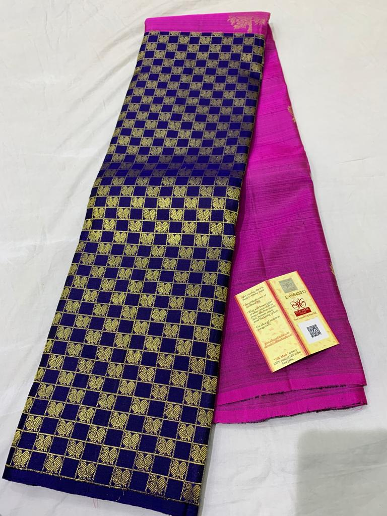Awesome Bollywood Designer Kanjivarm Silk Saree KJ5351