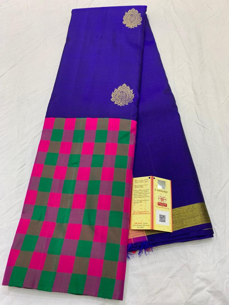 Awesome Bollywood Designer Kanjivarm Silk Saree KJ5358