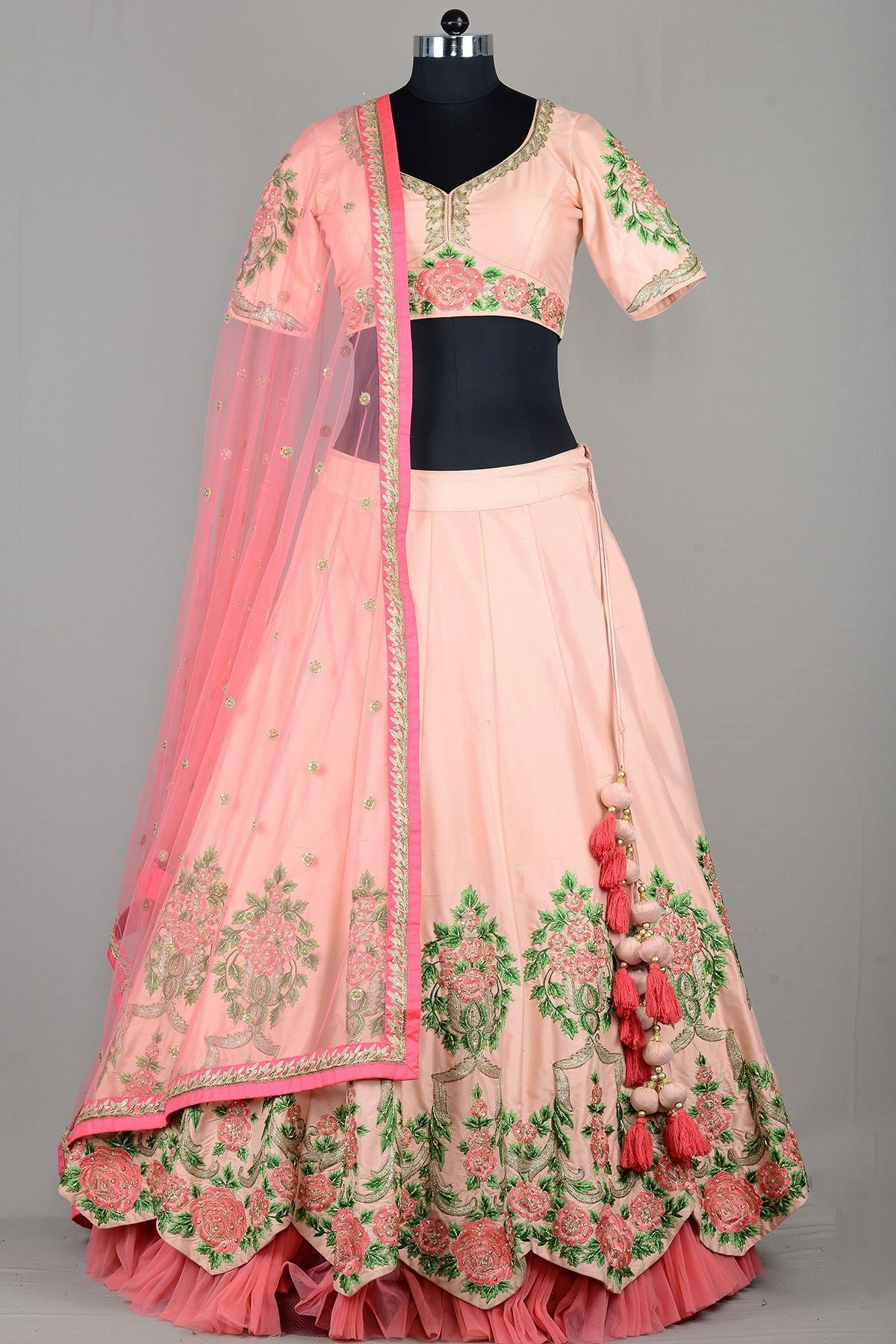 BEAUTIFUL WEDDING WEAR LEHENGA CHOLI  MDL1108