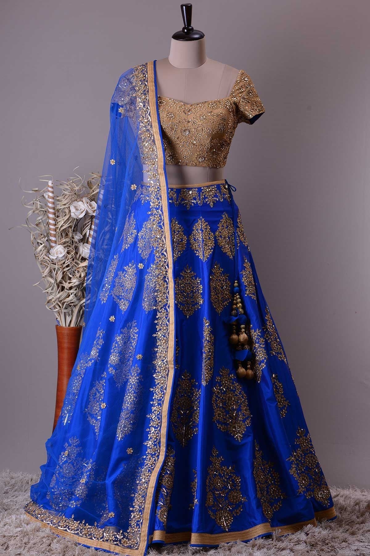 NEW LOOK WEDDING WEAR LEHENGA CHOLI MDL1118