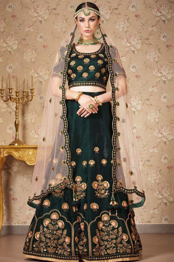 NEW LOOK WEDDING WEAR LEHENGA CHOLI MDL1146