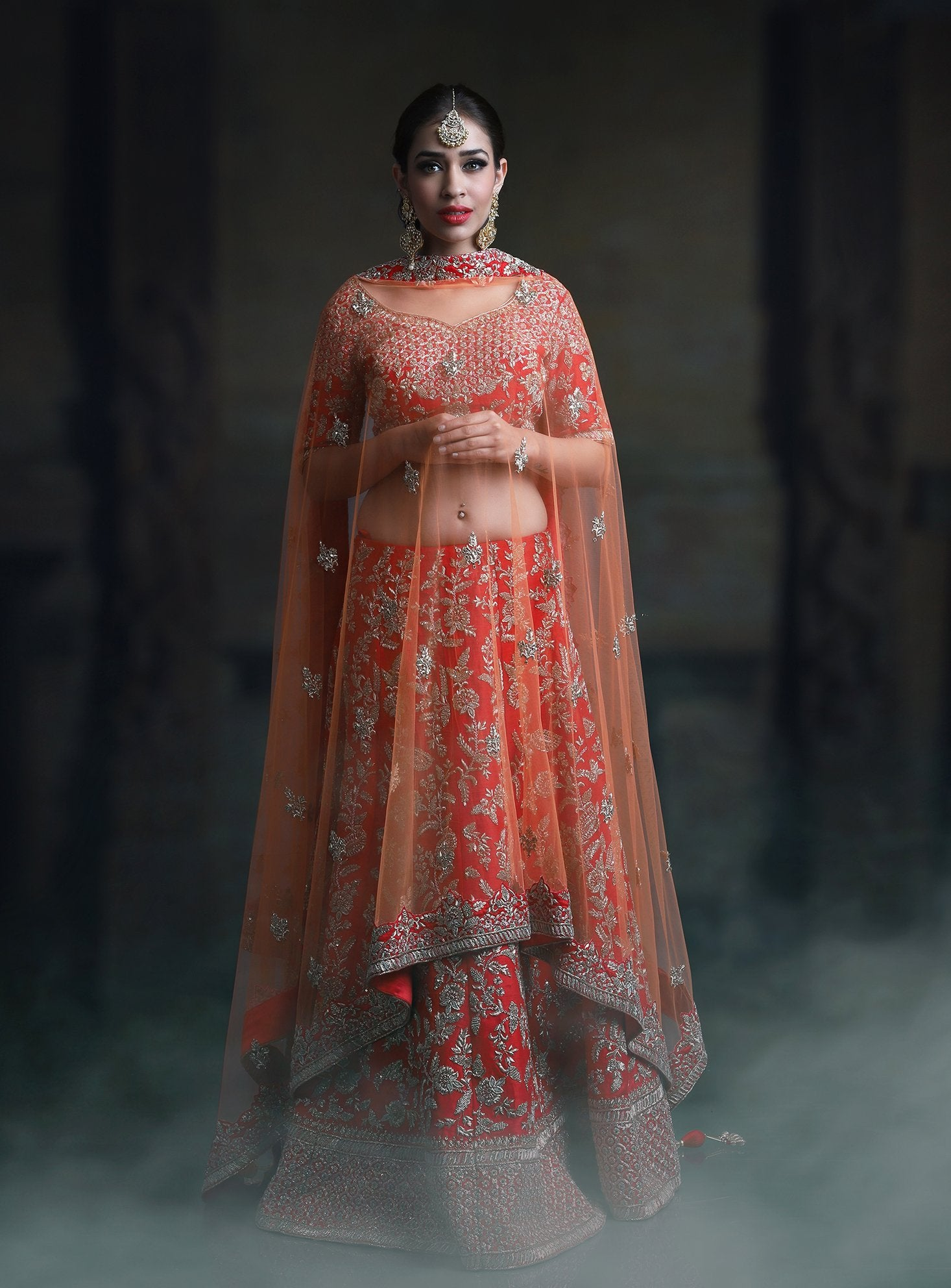 BEAUTIFUL WEDDING WEAR LEHENGA CHOLI MDL1165