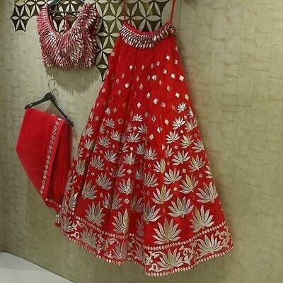 New Collection of Designer Party Georgette  Embroidery Work Lehenga Choli MDL1505