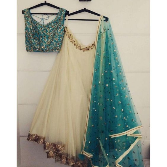 New Collection of Designer Party Wear Tafeta Silk With Embroidery Lehenga Choli MDL1532