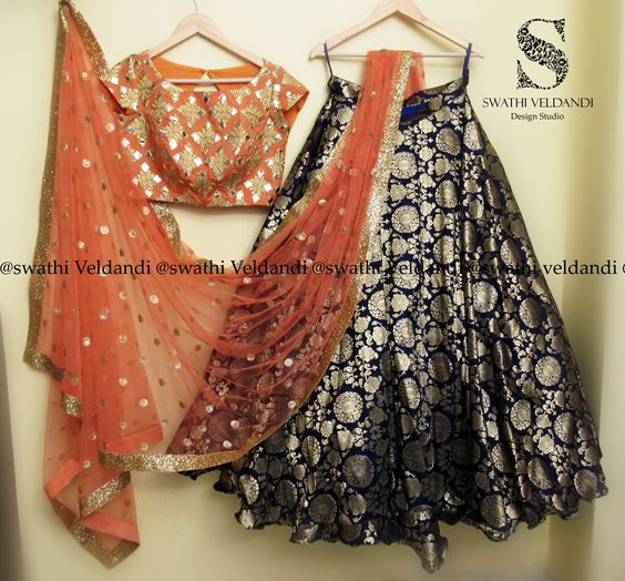 Awesome Collection Of Designer Party Wear Taffeta Silk  With Embroidery Work  Lehenga Choli  MDL1598