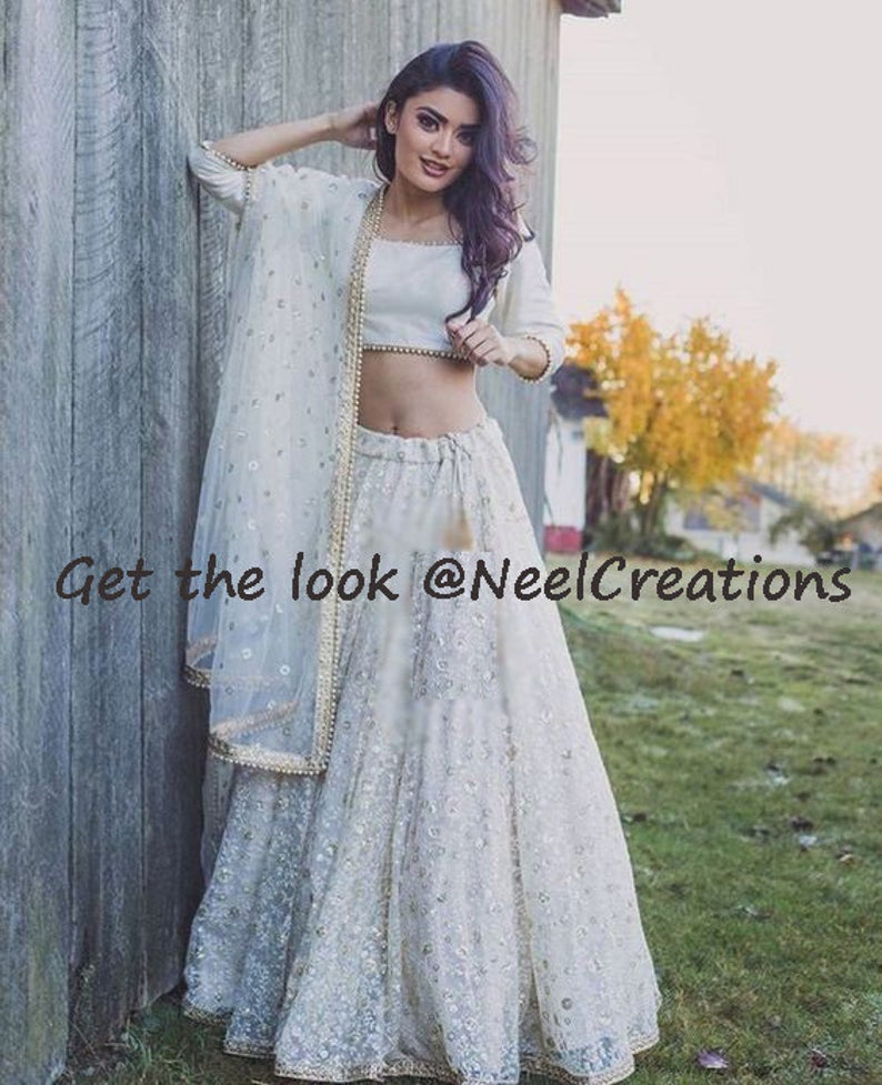 Awesome Collection Of Designer Party Wear Net With Embroidery Work  Lehenga Choli  MDL1607