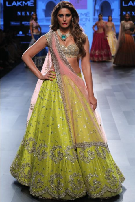 Wonderfull Collection Of Designer Party Wear Net With Embroidery Work Lehenga Choli  MDL1618