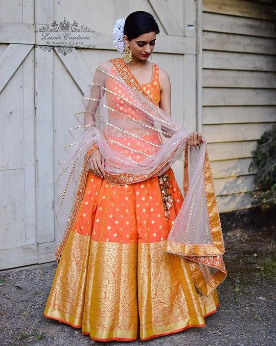 Awesome Collection Of Designer Party Wear Taffeta Silk With Embroidery Work Lehenga Choli  MDL1623