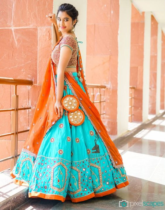New Designer Party Wear Taffeta Silk With Embroidery Work  Lehenga Choli  MDL1672