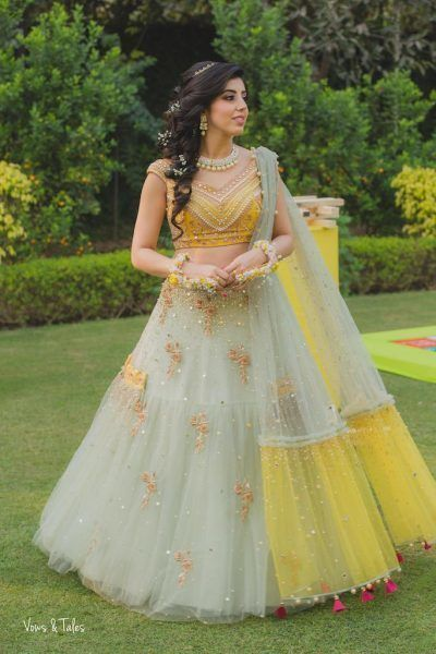 Awesome Designer Party Wear Net With Embroidery Work Lehenga Choli  MDL1701
